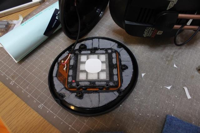 ツイーター板を写真印刷用厚紙で