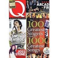 Q誌の選ぶ歴史上最も偉大な100人のシンガー